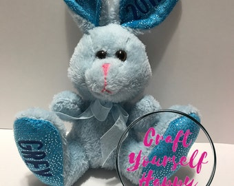 Blue Bunny customized with name and year