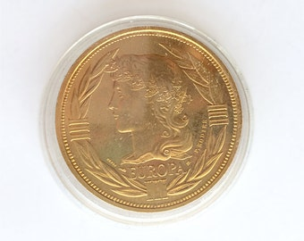 Medal ECU Europa 1988 Bronze florentin