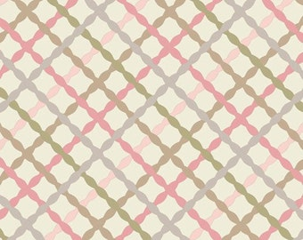SALE!!!---Eggshell Trellis by Art Gallery Fabric
