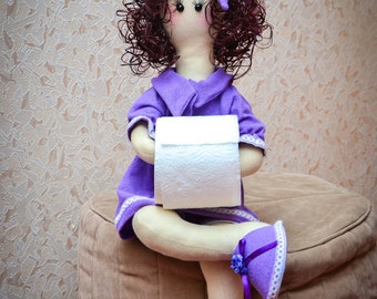 Doll bathroom accessories