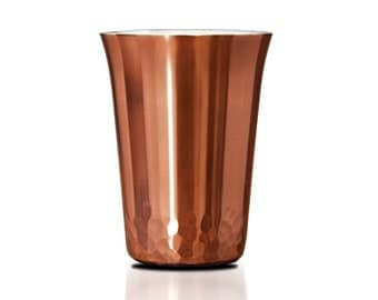 the HAMMERED 6 Copper Shots -Set of 6