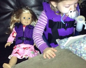 Cystic Fibrosis Treatment Vest for American Girl Doll
