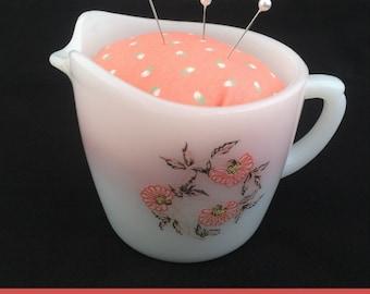 Vintage Creamer Pincushion