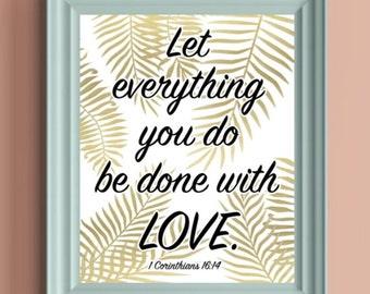 Digital Download - 1 Corinthians 16:14