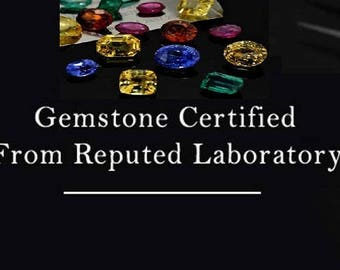Certificate of Authenticity for Gemstones Testing Lab Certificate from Reputed Laboratory Gems Certificate of Authenticity