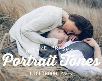 Portrait Tones Lightroom Presets for Adobe Lightroom Photography Editing with Stunning Results