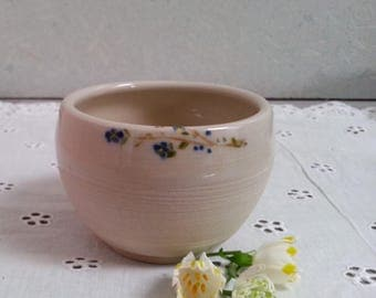 Ceramic bowl forget-me-not