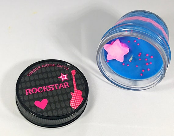 Rockstar, Rock Star, Soy Candle, Best Friend Gift, Candle Gift, Decorative Candle, Gift For Her, Summer Candles, Unique Gifts, Novelty Gift