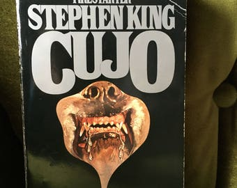 Cujo by Stephen King 1982 paperback Horror