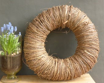 Wreath XL 65 in brown or white-washed