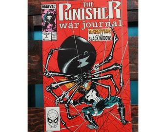 The Punisher War Journal Number 9 1988
