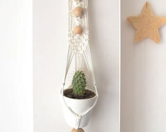 Sold out * 100% cotton cord macrame wall hanging