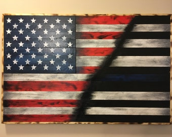 American Flag / Thin Blue Line