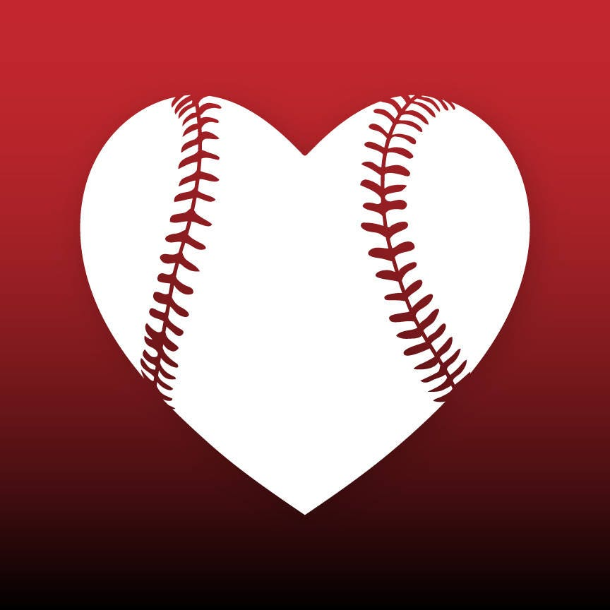 2224+ Baseball Love Svg for Cricut
