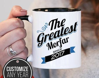 The Greatest Morfar Since (Any Year), Morfar Gift, Morfar Birthday, Morfar Mug, Morfar Gift Idea, Baby Shower, ,