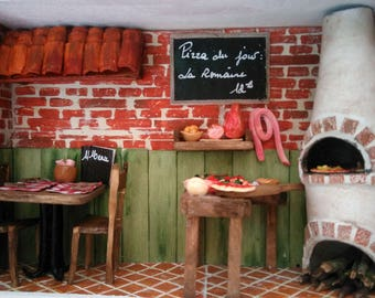 Restaurant Miniature - The Italian Pizza Restaurant