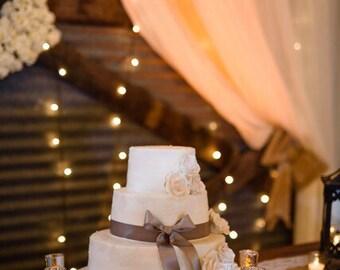 Wedding cake stand slab