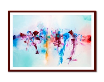 Printable painting Abstract painting watercolor pictures Original painting Art  Modern Painting, Modern Art Wall, INSTANT DOWNLOAD.