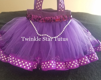 10 Party Favor Tutu Bags-Princess Sophia-Princess Theme Party-Birthday Party Bags