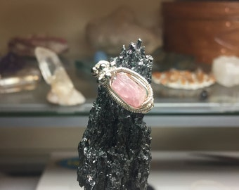 Pink Tourmaline Ring (Size 6.75)