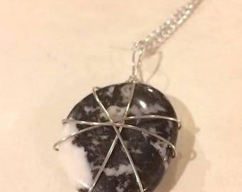 Zebra Stone Necklace