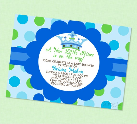 Little prince baby shower invitation prince baby shower prince il570xn filmwisefo