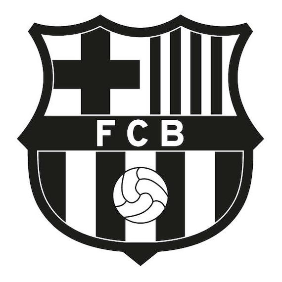 FC Barcelona svg, FC Barcelona clipart, logo silhouette ...