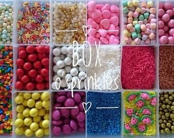 Big Box O'Sprinkles | Bulk Sprinkle Medley 1.1kg