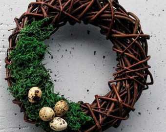 Easter minimalist wreath