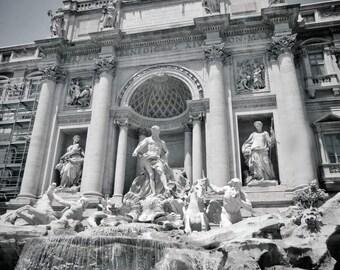 Trevi Fountain Photo, Photo Of The Trevi Fountain, Trevi Fountain Print, Rome Print, Rome Photo, Rome Photography, Rome Wall Art, Rome Italy