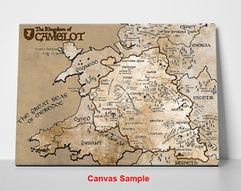 King Arthur Inspired, The Complete Map of Camelot