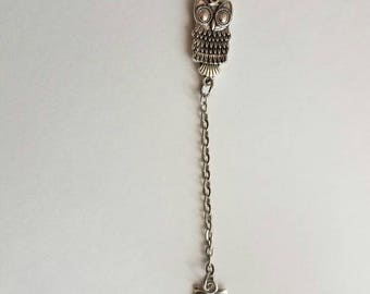 Dangling Owls Necklace