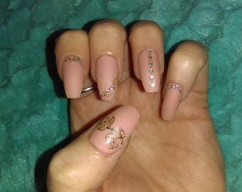 Full cover coffin nails!