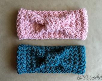 Lazy Hazy Crazy Days Headband Pattern / Crochet Pattern / Crochet Headband Pattern