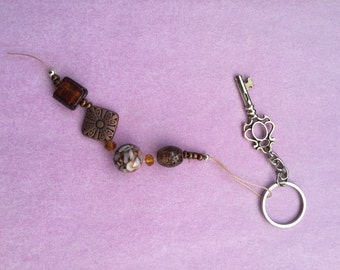 Charm - bronze and browns