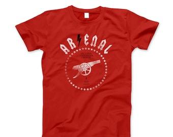 Arsenal FC T-Shirt Vintage Gunners Distressed Tee