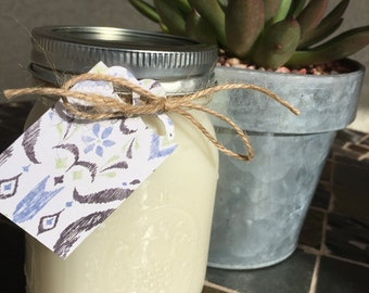 Lilac Handmade Soy Candle