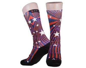 Handmade Sublimated Socks style Legalize