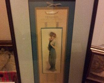 "A.W.Kenison Company ""Blue Lady""  1915 Calendar"