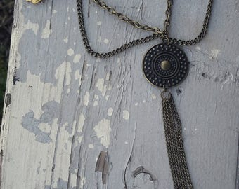 Wing charm necklace