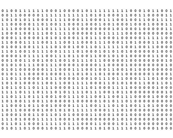 Binary wrapping paper for geeky presents