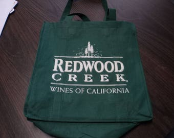 Vintage Redwood Creek Wine Bag
