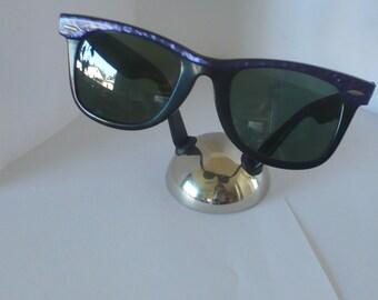 Vintage Ray Ban Wayfarer USA Street neat violet by B & L