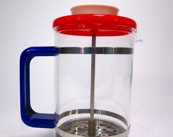 Retro Pyrex 2-Cup Coffee Press