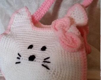 My kitty Hand bag