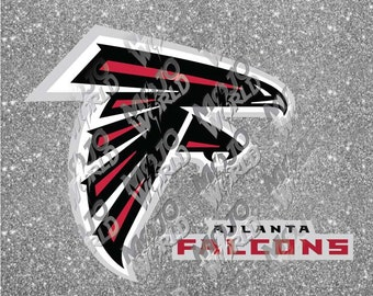Atlanta Falcons svg dfx jpeg jpg eps layered cut cutting files decal vinyl die cut cricut silhouette