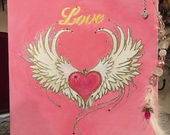 Valentines Day original art