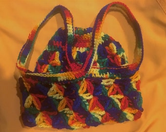 Rainbow Market Bag