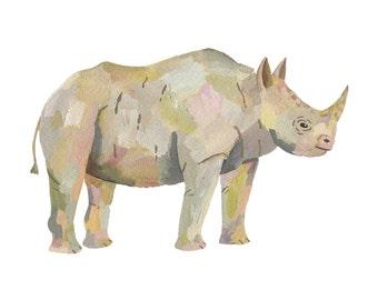 Rhinoceros (print)