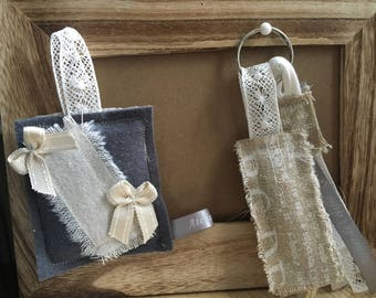 Door-key or romantic bag accessory